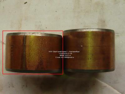 Втулка шкворня нижняя большая D=56, d=47, L=37 H2/H3 HOWO (ХОВО) WG1880410029 фото 1 Чебоксары