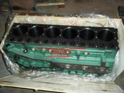 Блок цилиндров двигатель WD615.68 (336 л.с.) H2 HOWO (ХОВО) 61500010383 фото 1 Чебоксары