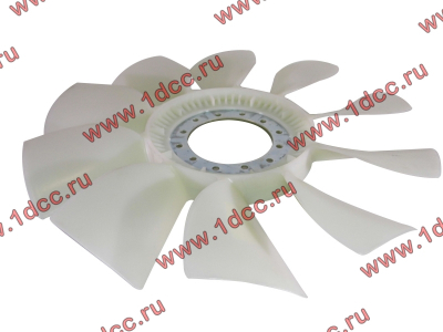 Вентилятор радиатора (на гидромуфту) без кольца d-590 H HOWO (ХОВО) 61500060131 фото 1 Чебоксары